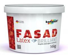 Water deluting latex front Kompozit® pain