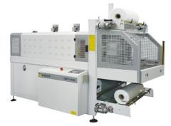 Semiautomatic device packaging large-size products