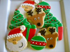 New Year's gingerbreads and cookies
