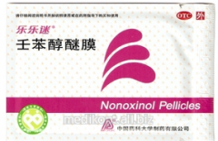 Contraceptive Nonoksinol for women (in 1 unitary