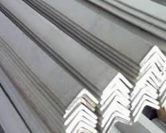 Уголки стальные горячекатаные равнополочные