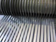 Strips from stainless steel