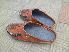 Slippers are house, imperial, grated tannage, 2
