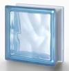Μπλοκ από γυαλί διαφανή