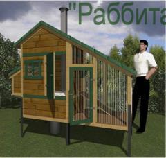 Конструкции эко-кролиководства 'РАББИТАКС КИД 2',