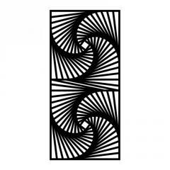 Резная декоративная решетка Протуберанец