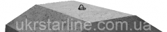 Плиты ленточных фундаментов ФЛ 32.12-2 1180х3200х500мм