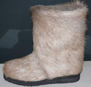 High fur boots from natural fur in Ukraine to Buy,