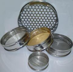 Sieve laboratory 120 mm, 200 mm, 300 mm