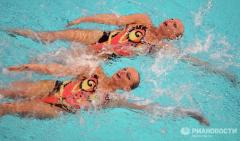 Спортивный купальник для плавания
