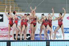 Спортивный купальник для художественной гимнастики