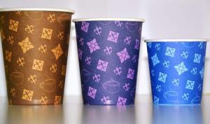 Glasses disposable paper Loriplas
