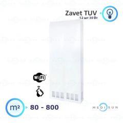 Бактерицидный рециркулятор воздуха обеззараживатель АЭРЭКС-ПРОФЕШНЛ 1200 с WiFi Завет, лампа Zavet TUV