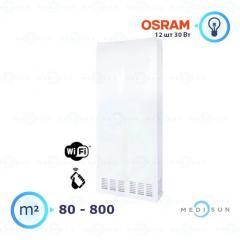 Бактерицидный рециркулятор воздуха, дезинфецирующая лампа АЭРЭКС-ПРОФЕШНЛ 1200 с WiFi Завет, лампа Osram