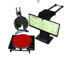 The laser stand for check of installation of
