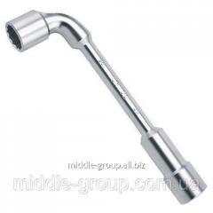 Г-образный торцевой гаечный ключ TOPTUL 19x19 мм