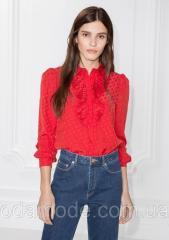 Блуза & Other Stories красная