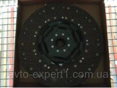 Диск сцепления FAW CA3252 ( 10шл Dшлиц 36мм....