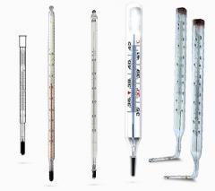 Термометры стеклянные ртутные