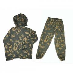 Suit protective KZS setchasty, for hunting, fishing