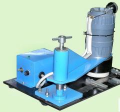 Станок для зачистки сварочных швов ленточных пил