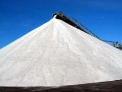 Salt technical for topping of roads