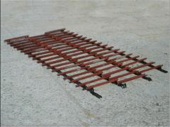 Conveyor of an inclined chamber (Combine Don)