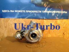 The turbine (turbocompressor) on BMWs 530D