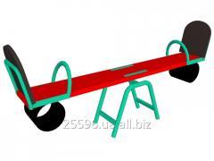 Качель-балансир, сиденье со спинкой