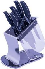 Набор ножей 6пр./подставка пластик