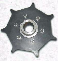 Drive asterisk of drive chain (Turas's disk)