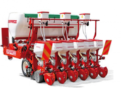 Seeder hook-on exact seeding with application of