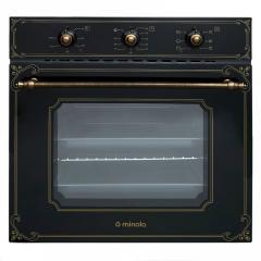 Встраиваемый духовой шкаф Minola OE 6613 BL RUSTIC