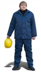 Special clothing with insulation: INSULATED JACKET, INSULATED PANTS, JACKET MODEL, COVERALL with INSULATED JACKET (evrorstandart)