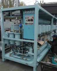 Clarification of fuel of oven dark and dark diesel