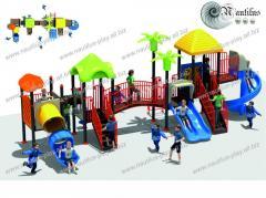 Детские площадки из пластика, пластиковые площадки