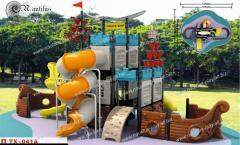 Детские площадки из пластика, пластиковая горка