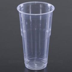 Packaging machines for packing in plastic cups