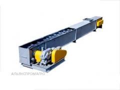 The conveyor is scraper