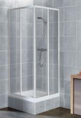 Square shower cabins angular shower cabins