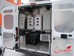 Mobile auto repair shop - command mobile units