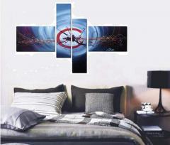 Картины модульные в Украине, Купить, Цена, Фото Модульная картина, картины из частей, сегментированные картины, картина сегментированная Код товара: 128
