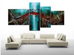 Картины модульные в Украине, Купить, Цена, Фото Модульная картина, картины из частей, сегментированные картины, картина сегментированная Код товара: 137