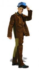 Одежда защитная брезентовая