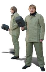 Protective clothes, tarpaulin