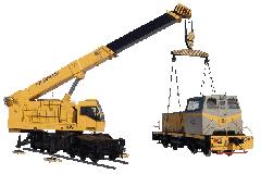 Cranes railway KZh-462, KZh-562, KZh-662, KZhS-16,