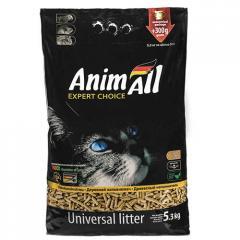 Наполнитель туалетов для кошек AnimALL 5,3 кг