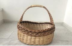 Плетеная корзина для Пасхи из лозы (MAS40305)