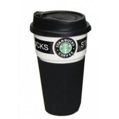 Термокружка от Starbucks 350 мл Черный...