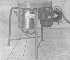 Mixer of cement slurry 3TsR-5 Laboratory